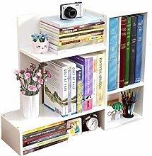 SYyshyin Desk Storage Organizer Desktop Bookshelf