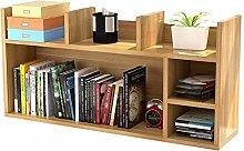 SYyshyin Desktop Bookshelf Multipurpose Bookshelf