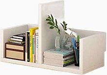 SYyshyin Small Wood Shelf,Creative Computer Desk