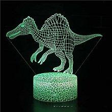 SYYUIN® 3D illusion light 16 colors clock night