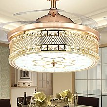 SZH ZPTENT 42-Inch Chandelier with Bluetooth