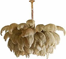 SZH ZPTENT Feather Pendant Light, Creative Art