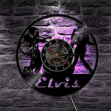 szhao Elvis Wall Clock Modern Design Classic Music