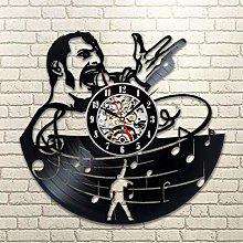 szhao Vintage Vinyl Record Wall Clock Modern