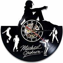 szhao Vinyl Record Wall Clock Modern Design Music