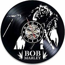 szhao Wall Clock Modern Design Music Theme Vintage