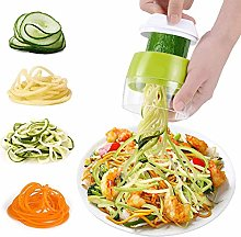 SZJH Handheld Spiralizer Vegetable Slicer, 4 in 1