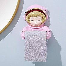 SZLGPJ Resin Roll Holders Paper Astronaut Girl