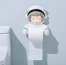 SZLGPJ Resin Roll Holders Paper Astronaut Girl