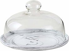 SZQ-Dome Cake Stand Cake Pan With Lid, Marble