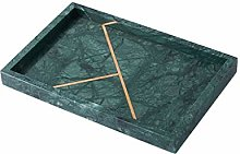 SZQ-Dome Cake Stand Marble Inlaid Copper Bar Tray,