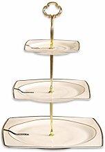 SZQ-Dome Cake Stand Multi-layer Cake Stand, Square