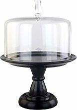 SZQ-Dome Cake Stand Retro Cake Dome, Kitchen Food