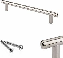 T-Bar Brushed Stainless Steel T Bar Handle for