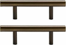 T Bar Handle Brass Cupboard Handles Cabinet Knobs