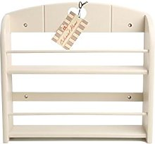 T&G Colonial Home 12-Jar Spice Rack in