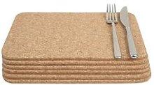T&G - Cork Rectangular 28x20cm Table Mats (Set of