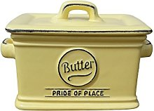T&G Pride of Place Butter Canister, Old Green,
