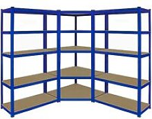 T-Rax Corner Shelving Unit & 90cm Garage Storage