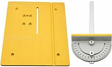T Style Angle Ruler and Table Saw Board, Measuring