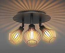 T-SUN 3 Way Ceiling Light Wall Spotlights,