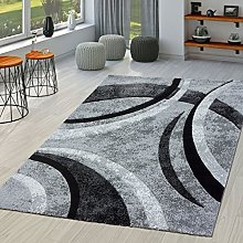 T&T design rug living room striped modern with