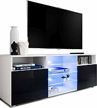 T38-146cm - Cabinet Media Center TV Console Stand