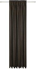 Tab Top Semi Sheer Door Curtain My Deco Colour:
