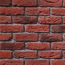 Taba Reclaimed Red and Black Multi Vintage Brick