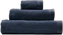 Tabb 3 Piece Towel Set Ebern Designs Colour: Navy
