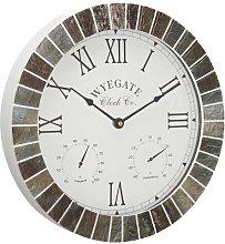 Tabb Slate Effect Outdoor Clock Sol 72 Outdoor