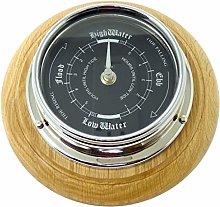 Tabic Prestige Tide Clock With Jet Black Dial,