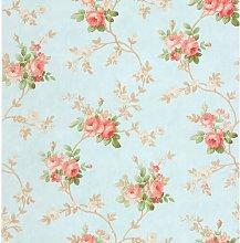 Tabitha 10m x 53cm Wallpaper Roll Lily Manor