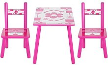 Table and Chair Set Childrens Wooden Table and