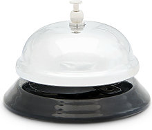 Table and Hotel Reception Bell, Desk Call Bell