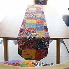 Table Bedding Mat Runners Double-Layer Cotton And