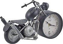 Table Clock Black and Silver BERNO