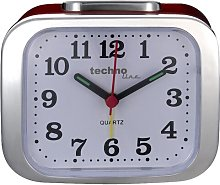 Table Clock Technoline Colour: Red