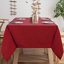Table Cloth Wipeable Square Tablecloth Waterproof