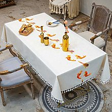 Table Cloths Embroidery Decorative Linen