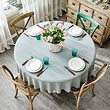 Table Cover Round Wedding Banquet Hotel Tablecloth