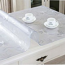 Table Cover Transparent Tablecloth Rectangle