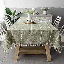 Table Cover, Wedding tablecloth, Linen tablecloth,