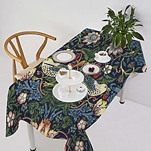 Table Cover William Morris Vintage Strawberry