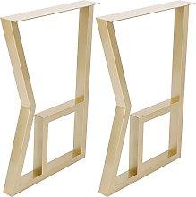 Table Desk Leg Modern Style DIY Iron Coffee Table