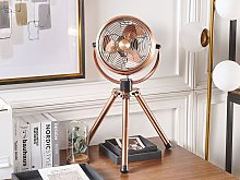 Table Fan Copper Metal Synthetic Material Height