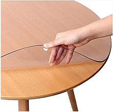 Table Film Clean PVC Tablecloth , Plastic Table