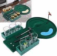 Table Golf Shot Glass Drinking Game, Mini Golf