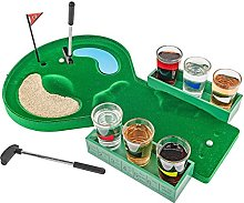 Table Golf Shot Glass Drinking Game Se