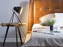 Table Lamp Black Colour Metal Tripod Stand